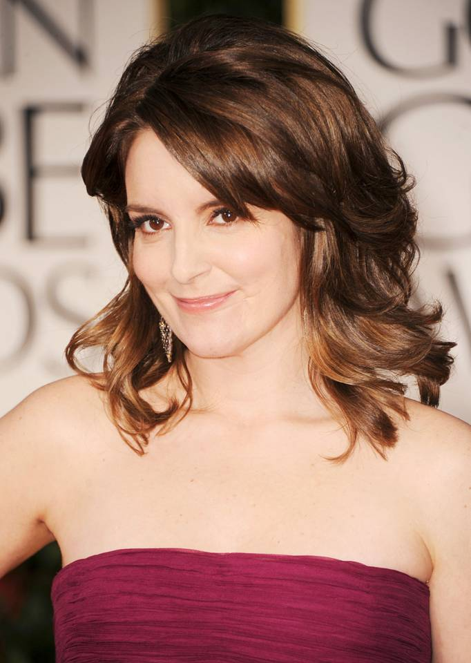 Tina Fey S Beauty Look From Votre Vu For The 2012 Golden