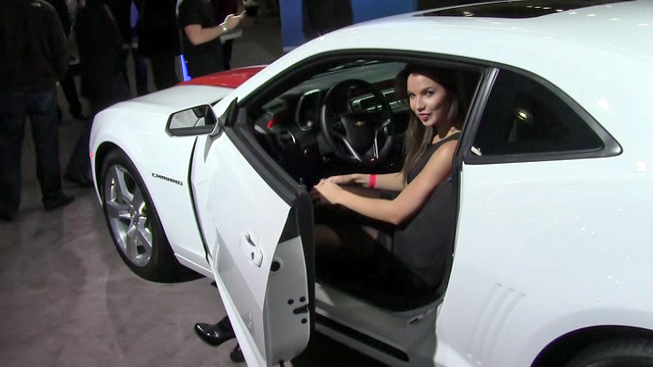 2013 New York International Auto Show - Angie Carrasco  Music Video
