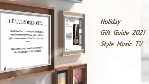 Style Music TV Holiday Gift Guide 2021
