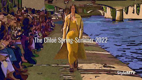 The Chloé Women's Spring-Summer 2022 Art