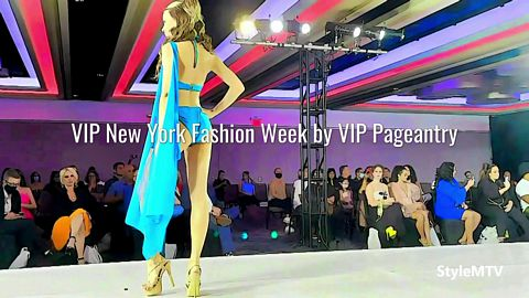 VIP New York Fashion Week SS 2022 by VIP Pageantry Art