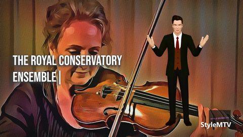ARC Ensemble Performs Dmitri Klebanov's String Quartet No. 4 (III Scherzando)