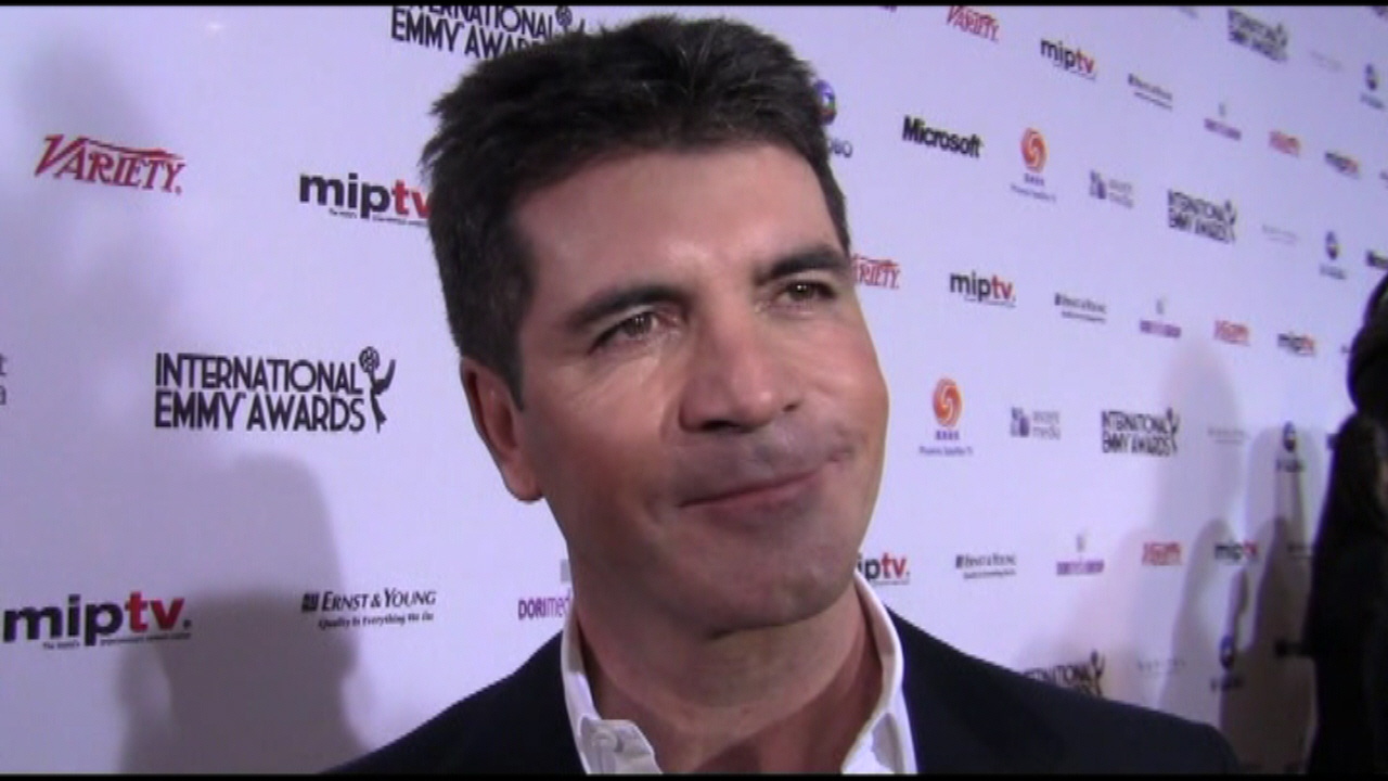 Simon Cowell - 38th International Emmy Awards