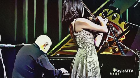 Violin & Piano - Pei-Wen Liao, William Goldstein Created in Real Time