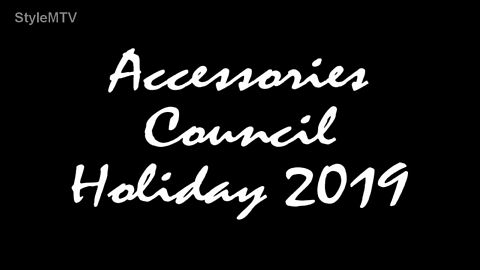 Accessories Council Holiday 2019