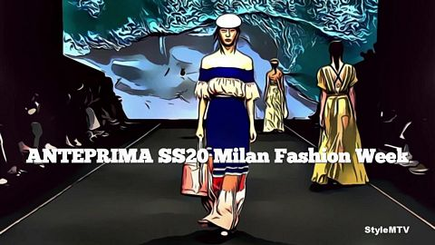 ANTEPRIMA SS20 Milan Fashion Week Art