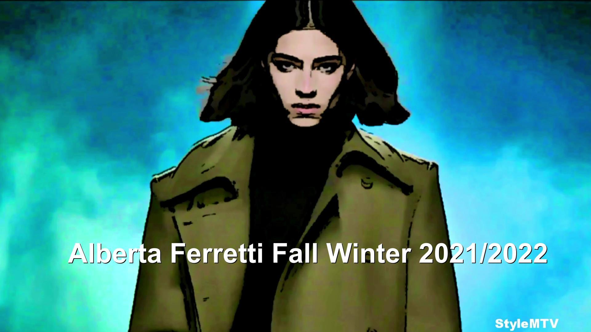 Alberta Ferretti FW21 Art Milan, Italy
