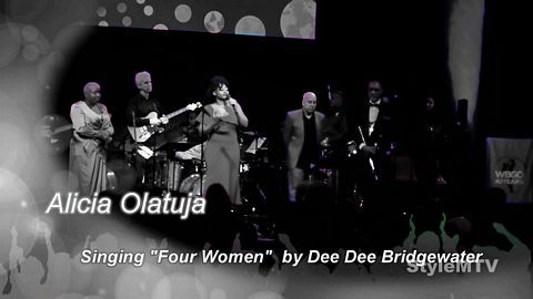 "Alicia Olatuja Singing ""Four Women""  WBGO Champions of Jazz"