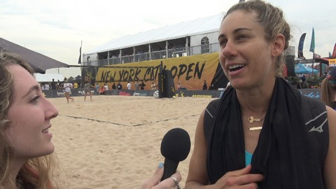 Exclusive interview with volleyball Superstar April Ross