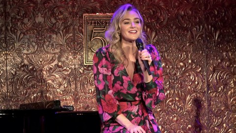 Betsy Wolfe Premier Show at Feinstein's 54 Below  in NYC