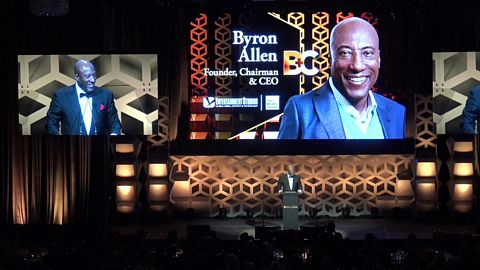 2019 Hall of Fame Honoree  Byron Allen