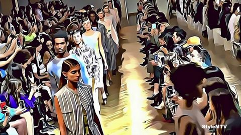 CIVIDINI SS20 Milan Fashion Week Art
