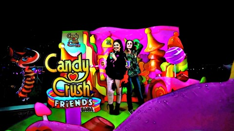 Candy Crush Friends LIVE Comes to NYC Art