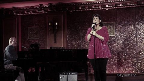 Christine Pedi at Feinstein's 54 Below Holiday 2019