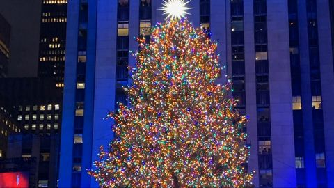 Rockefeller Center Christmas Tree Lighting Ceremony 2019