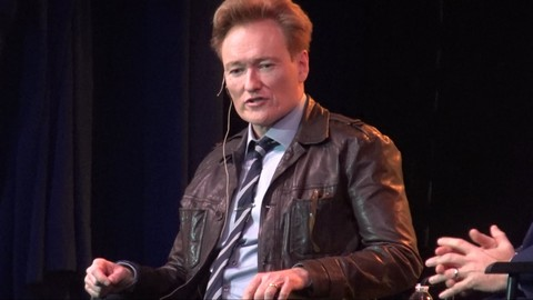 Panel Discussion with Conan O'Brien and CNN's Jake Tapper