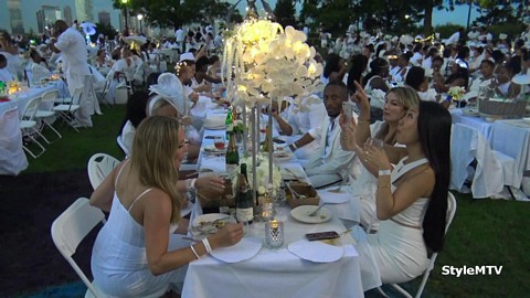 Diner en Blanc 2019 in New York City