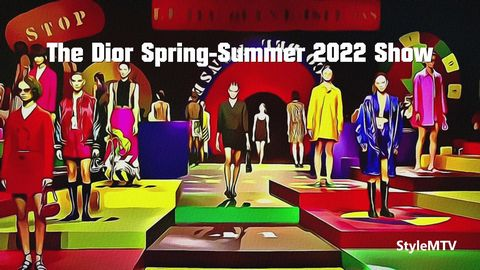 The Dior Women's SS 2022 Art