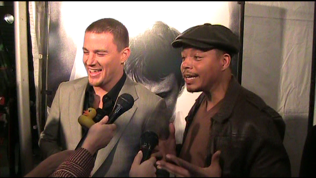 The Premiere of FIGHTING - Terrence Howard & Channing Tatum