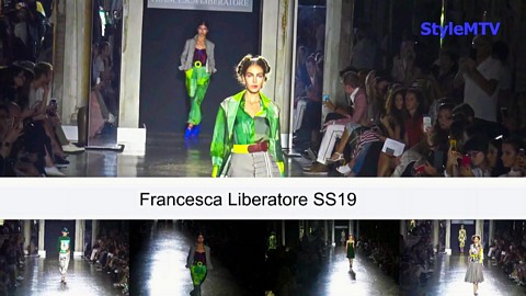 Francesca Liberatore  SS 19 Milan Fashion Week