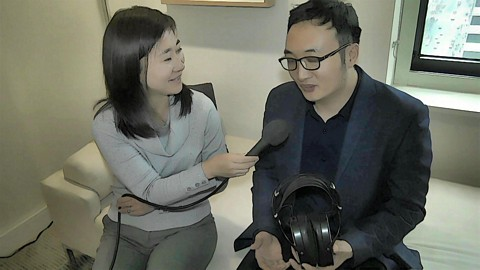 HIFIMAN Audio product demos with CEO, Dr. Fang Bian 2019