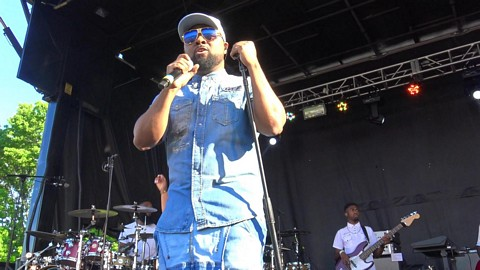 Musiq - Halfcrazy at SummerStage in Corona Park