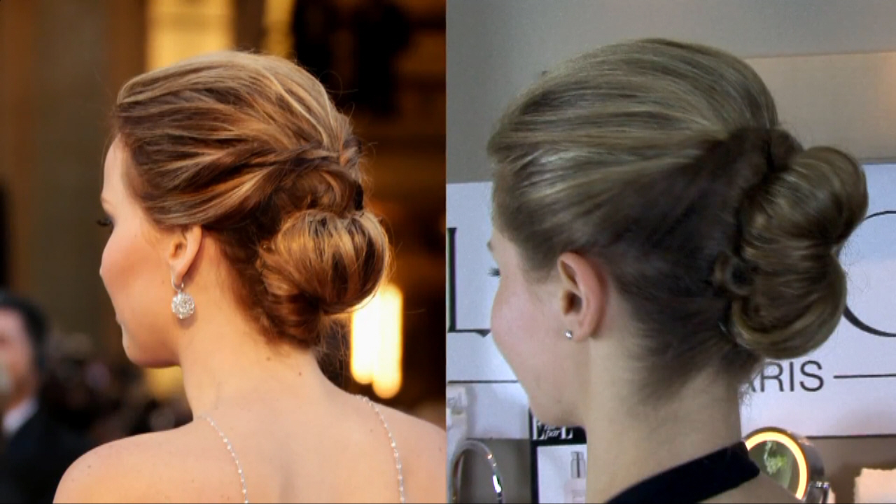 Jennifer Lawrence's 2013 Oscars Hair