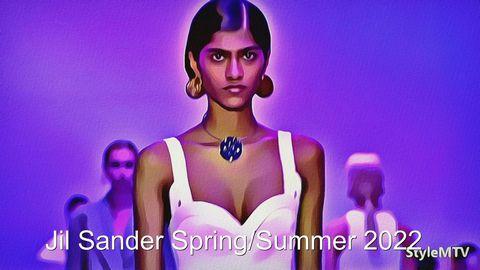 Jil Sander SS 2022 Milan Fashion Week Art