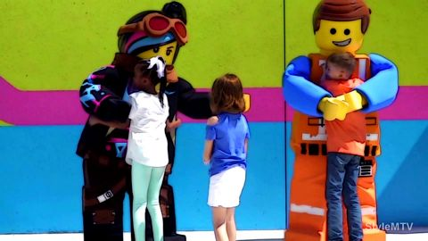 Lego Theme Park at LEGOLAND Florida Resort