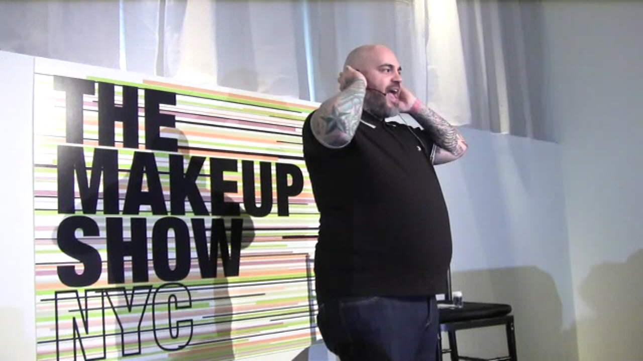 Live in New York City - The Makeup Show Preview