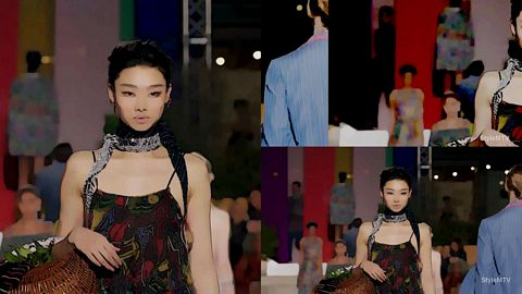 Missoni Fashion Show Art SS 2020 Milan Fashion week