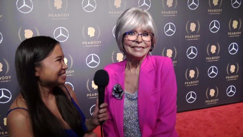 Rita Moreno Honored With Peabody Career Achievement Award