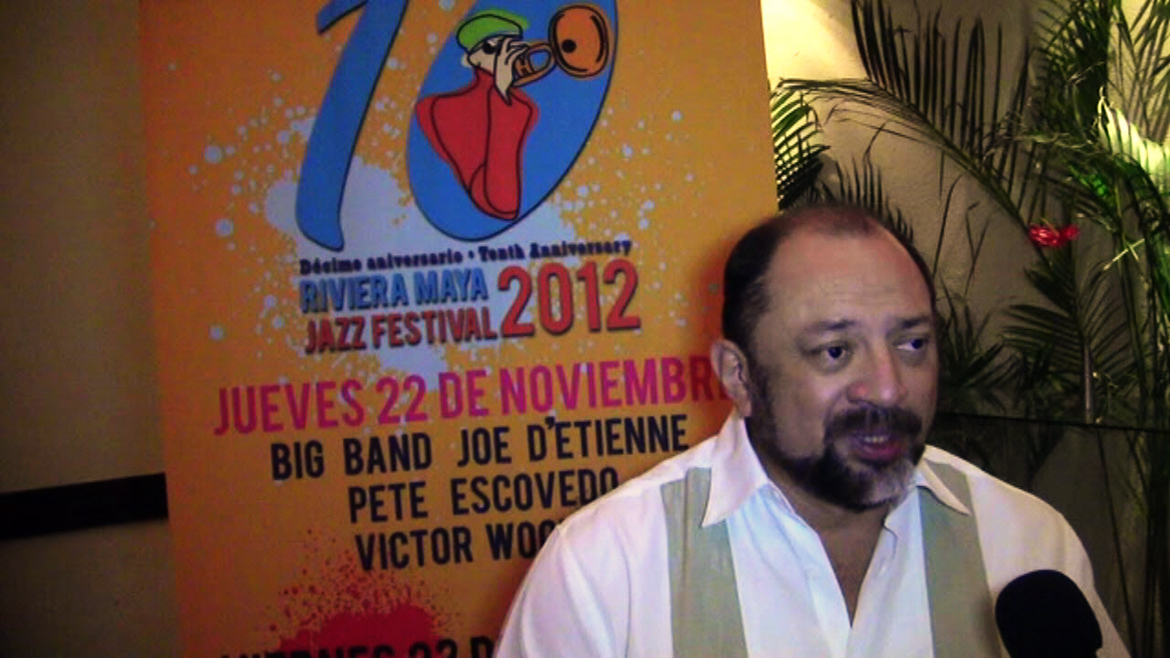 Riviera Maya Jazz Festival  Press Room - 10th Annual