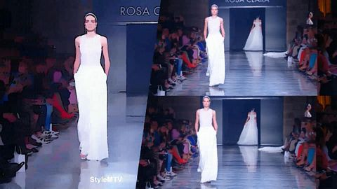 Rosa Clara 2020 Collection runway show Art Version