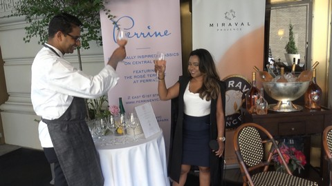 Opening of the Rose Terrace at The Pierre
