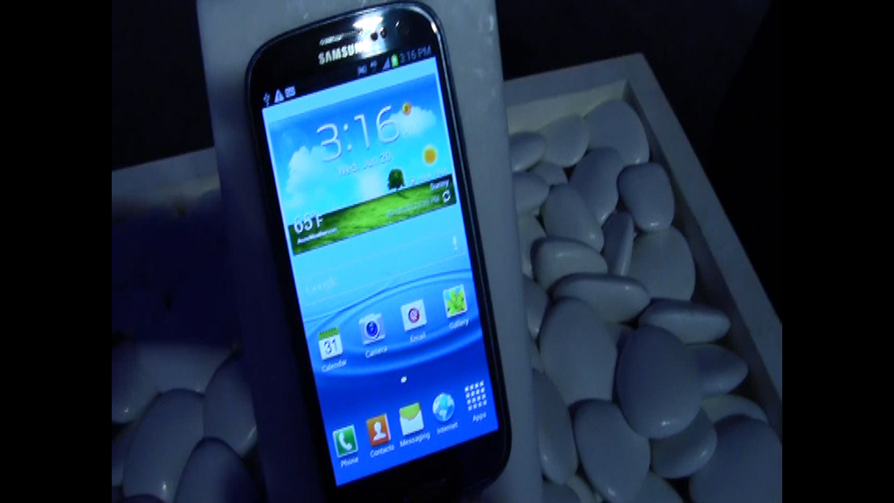 Samsung Galaxy S III Demo