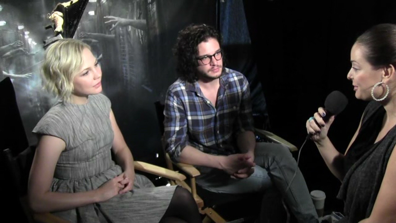 Interviews with Adelaide Clemens and Kit Harington - SILENT HILL: REVELATION 3D