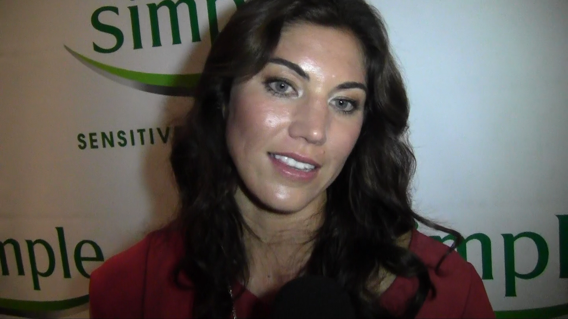 New partnership with Hope Solo - Simple Skincare