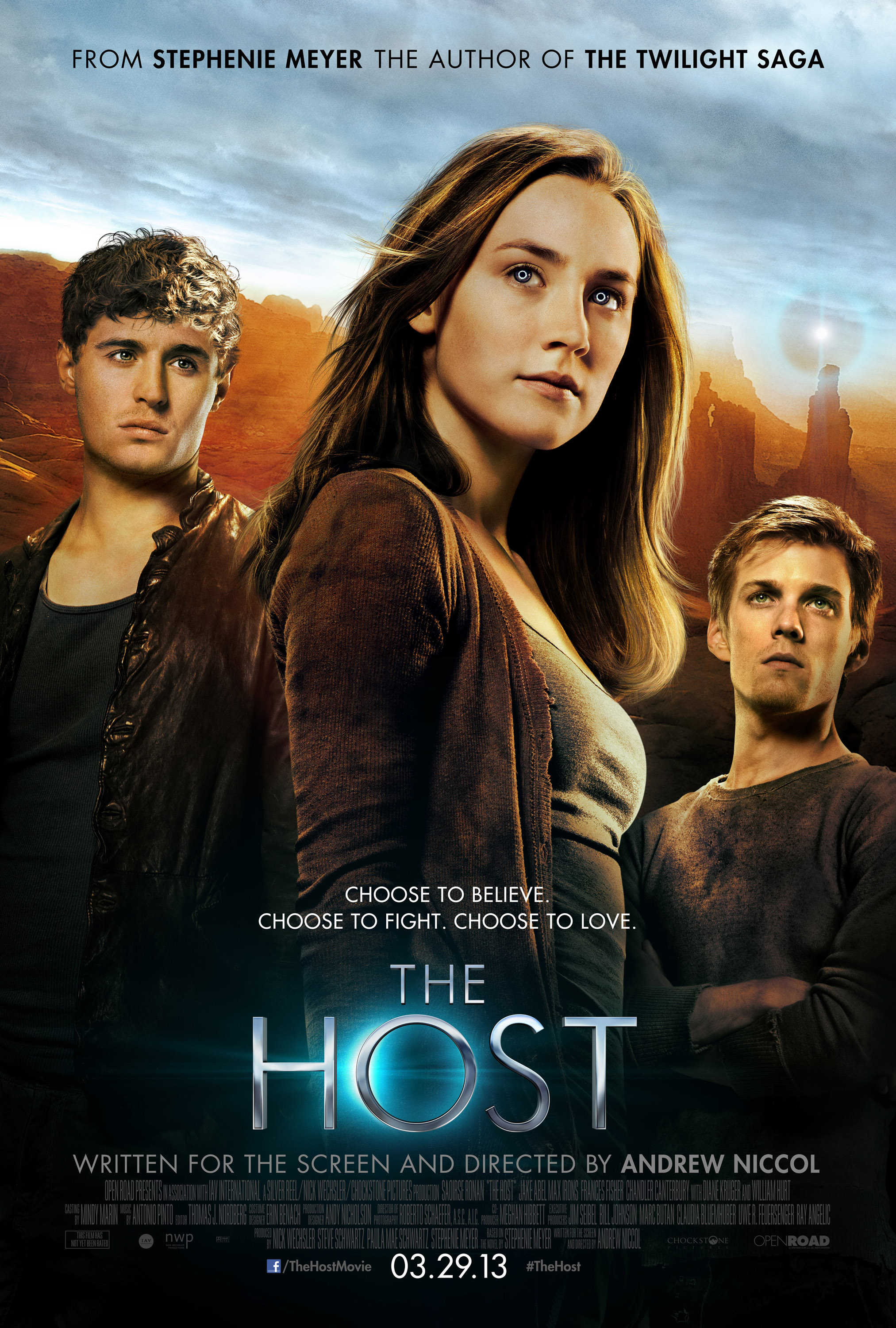 by Stephenie Meyer - THE HOST New Trailer