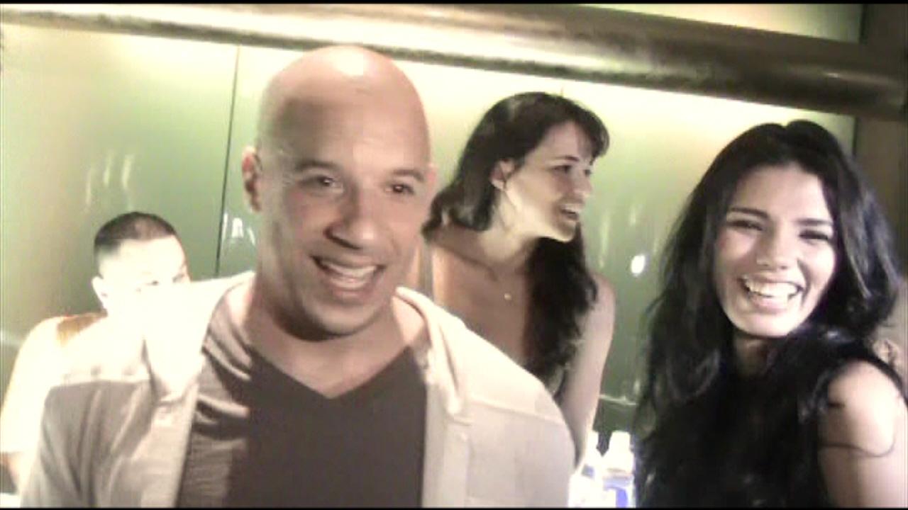 Vin Diesel and Michelle Rodriguez - Los Bandoleros