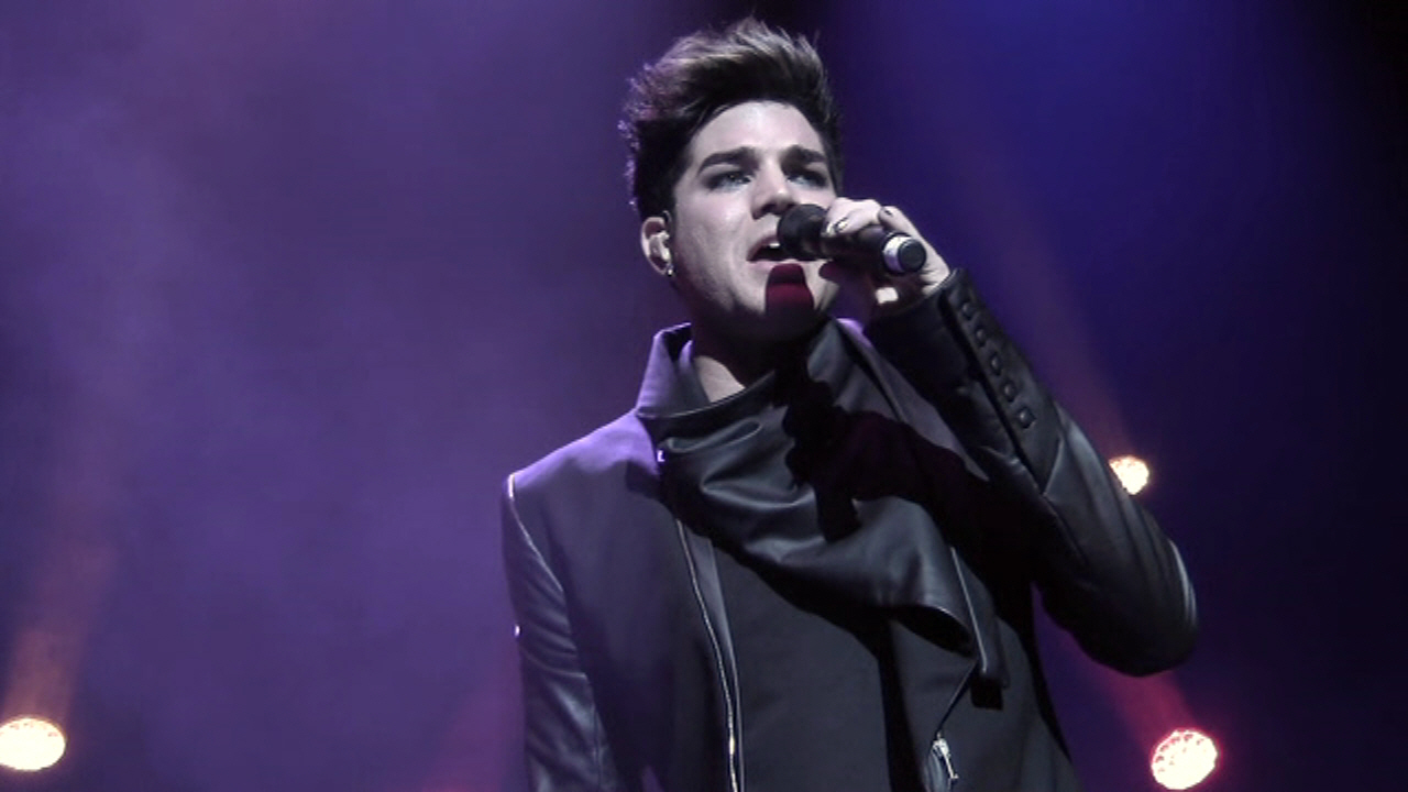Honoring Adam Lambert - We Are Family 2012 Gala