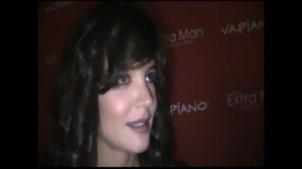 Exclusive interview with Katie Holmes - The Extra Man Premiere