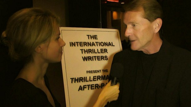 2016 Thriller Awards Authors Lee Child and K.J. Howe