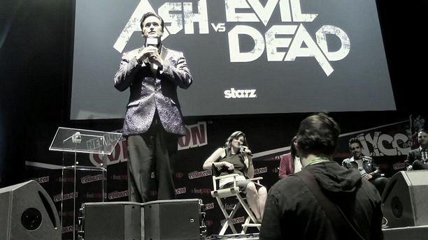 STARZ's Ash vs Evil Dead Q&A NYCC