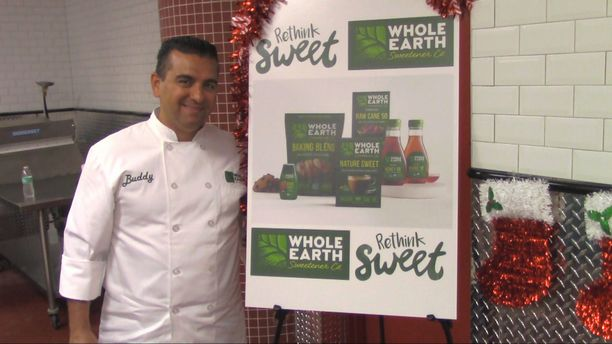 "Meet BUDDY VALASTRO the Cake Boss & ""RETHINK SWEET"""