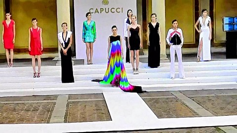 Capucci Spring/Summer 2017 Art Version Milan, Italy