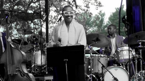 """Cecile McLorin Salvant - """"Something is Coming"""" at Grammy Park"""