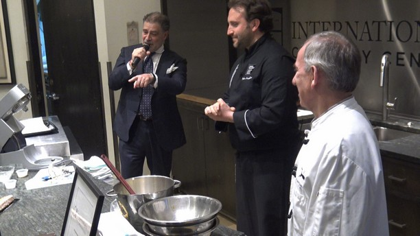 Italian Pastry Chef & Master Chocolatier Pietro Macellaro at ICC