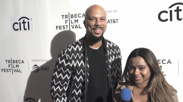 Common with Nelson George Tribeca Film Festival 2017