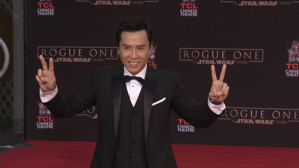 DONNIE YEN HAND PRINT CEREMONY